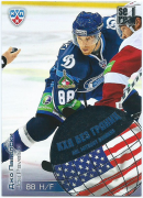 2012-13 KHL All Star Collection KHL Without Borders Joe Pavelski WB2-037