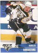 1999-00 Be A Player Karlis Skrastins (Rookie cards) # 379