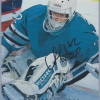 1995-96 Upper Deck Be A Player Arturs Irbe (Die Cut Autograph) #S23
